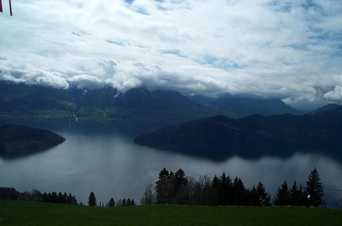 Красивые места Швейцарии: Люцернское озеро