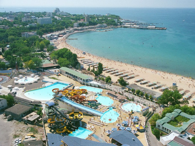 What is the sea in Anapa
