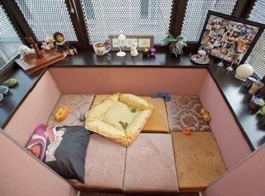Балкон - уютное местечко для медитации и релакса