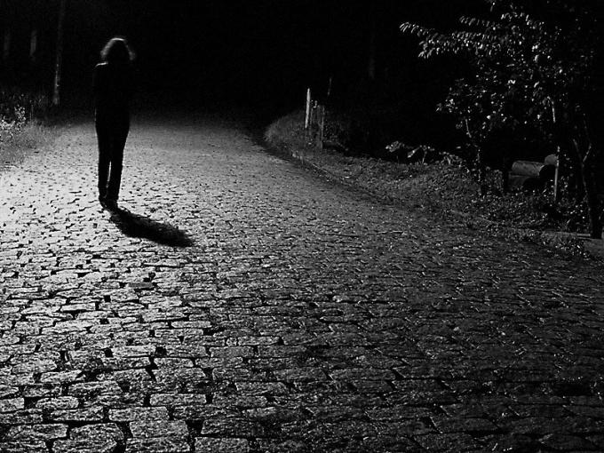 Как убежать от насильника