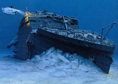 "The Sunken ""Titanic"""
