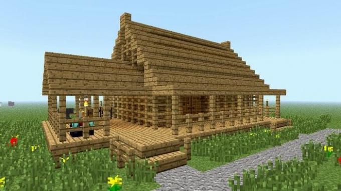 Как украсить дом в Майнкрафт