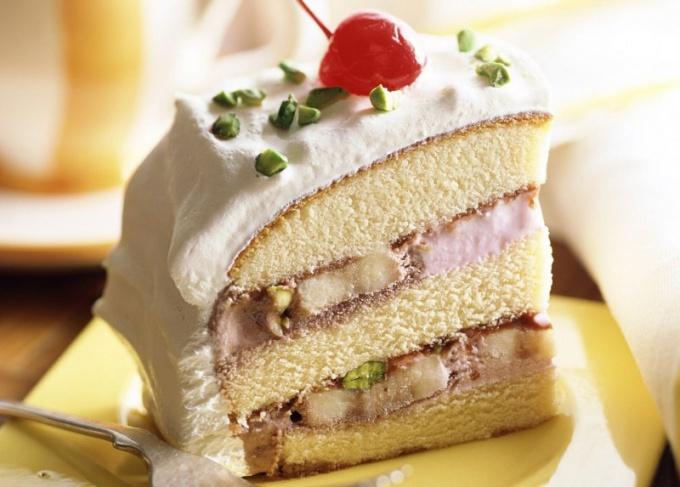 Красивый кусок торта фото