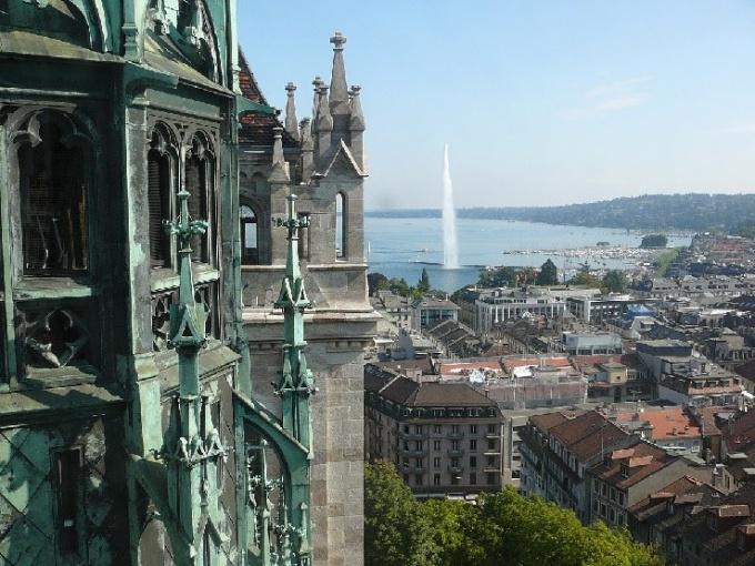 В какой стране находится Женева