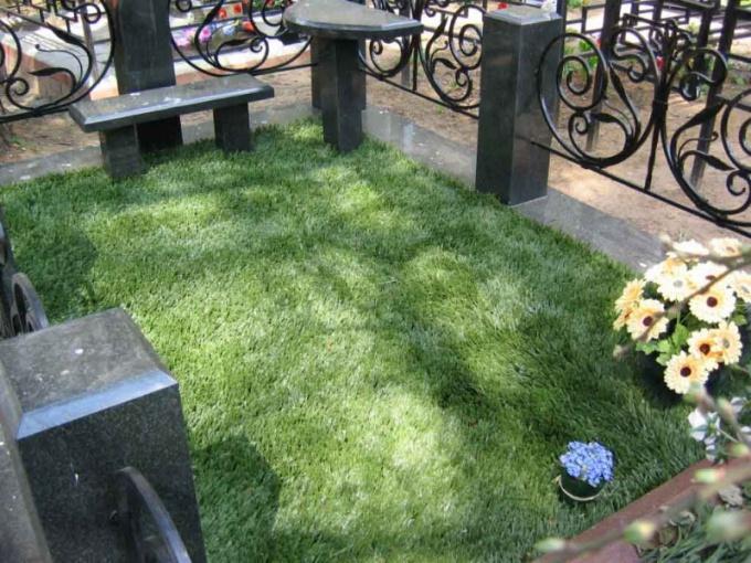 Как оформить могилу
