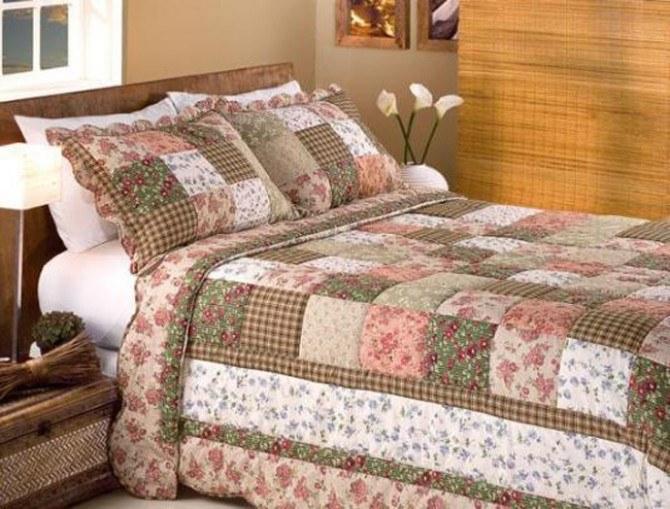 Как шить лоскутное одеяло
