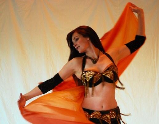 Танец живота красив и полезен для здоровья