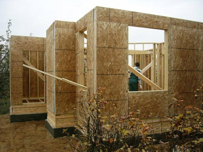 Как строить щитовой дом