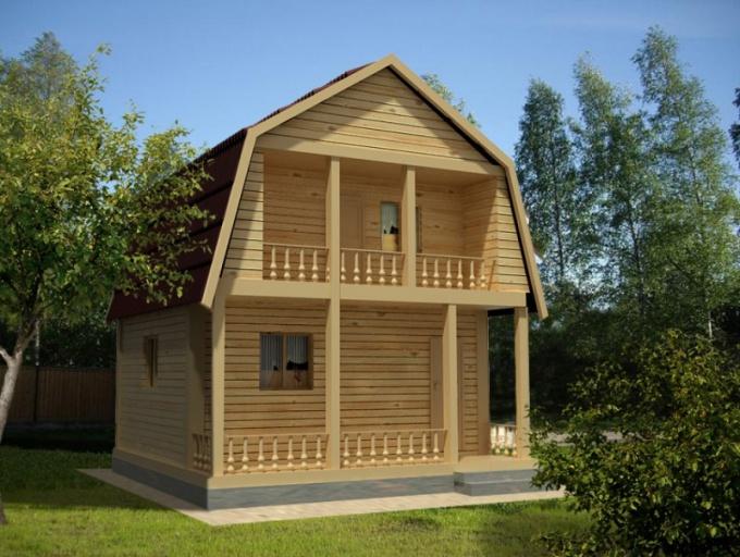 Как строить дом 6х6