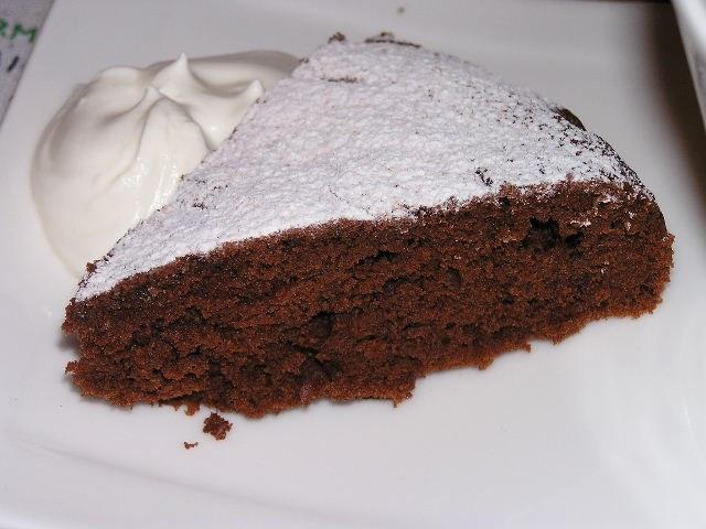 Как испечь пирог с какао