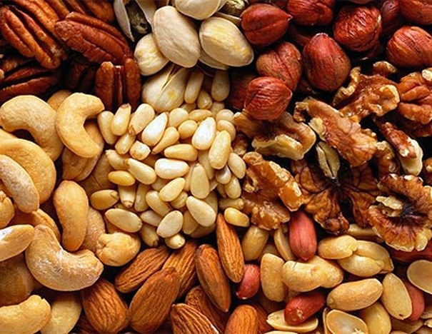 Как растут орехи
