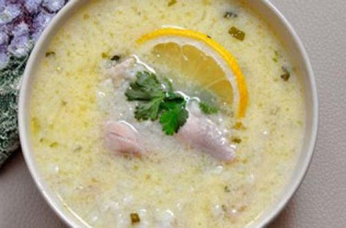 Как приготовить греческий куриный суп с лимоном