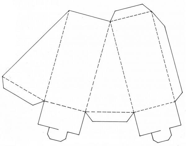 Торты из бумаги своими руками видео