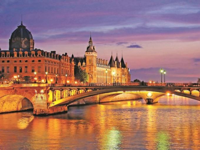 Главные реки Франции