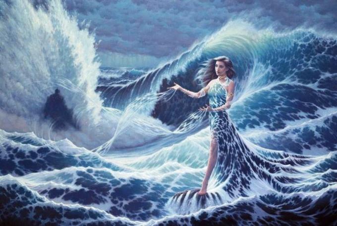 Марина - значит морская