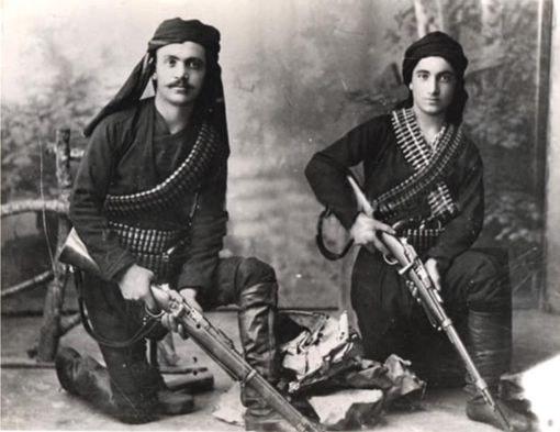 Понтийские греки, воины вооруженного сопротивления, начало 20 века