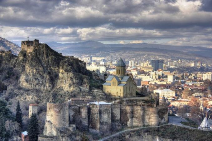Что за город Тбилиси