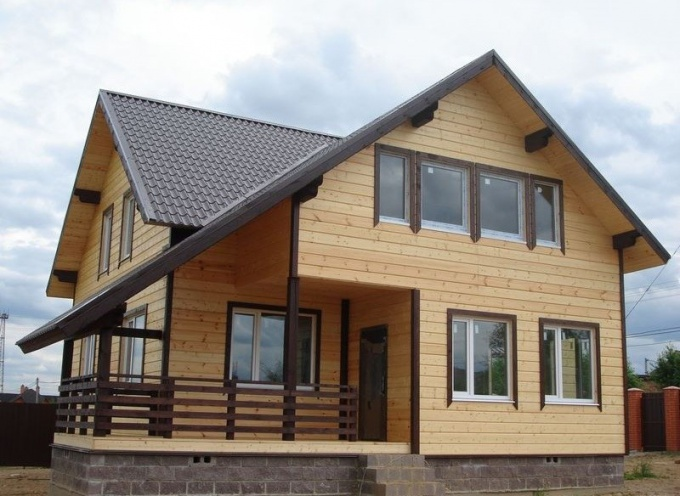 Каркасные дома красивы и быстровозводимы