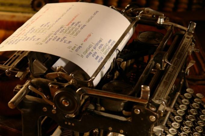 Что такое машинописные страницы