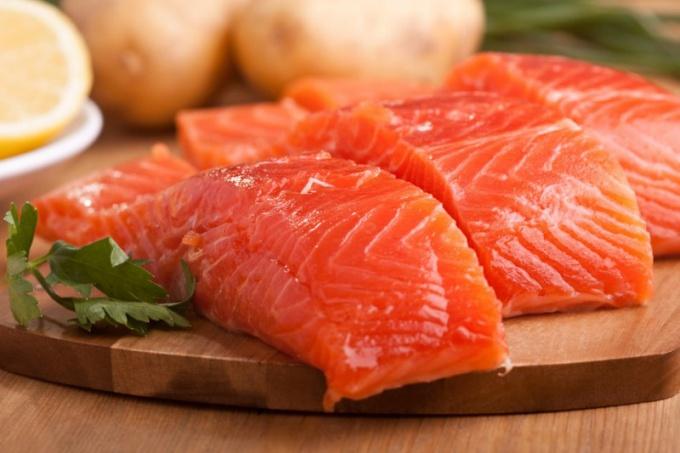 Чем полезна рыба лосось