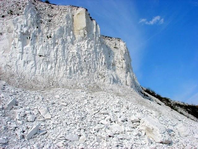 Что такое меловые горы