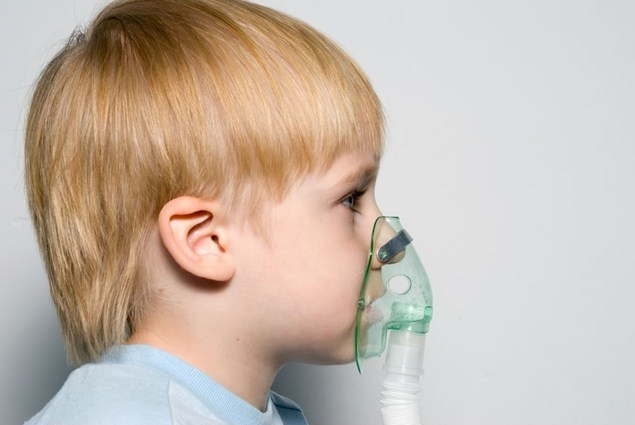 How to remove bronchospasm in a child