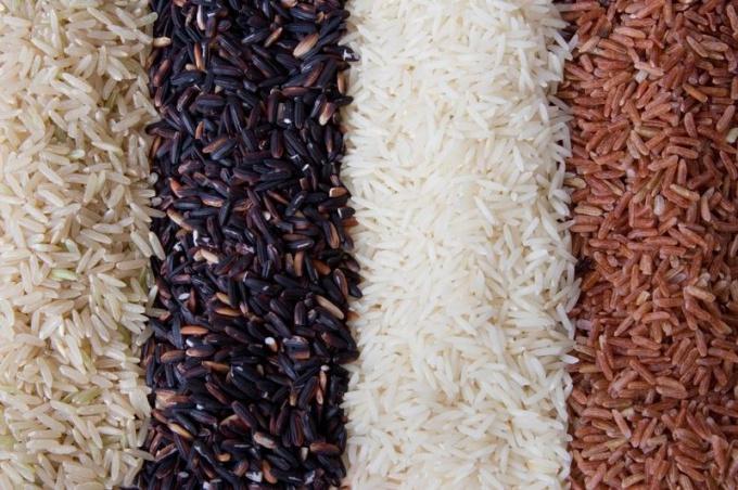 Нешлифованный рис - источник полезных веществ