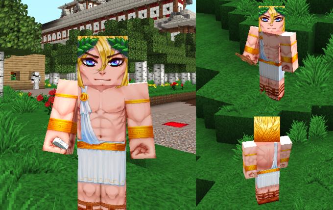 В Minecraft можно обрести черты даже столь необычного персонажа
