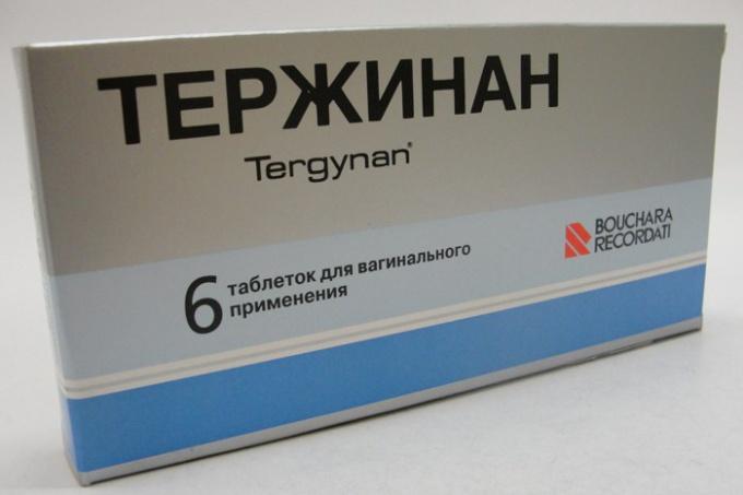 Частота применения медикамента Тержинан