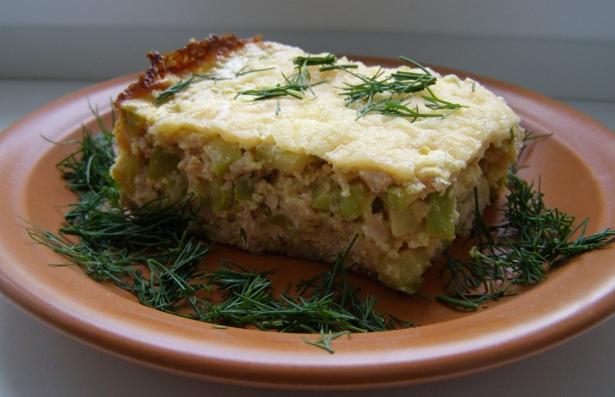 Как приготовить пирог с кабачками и мясом