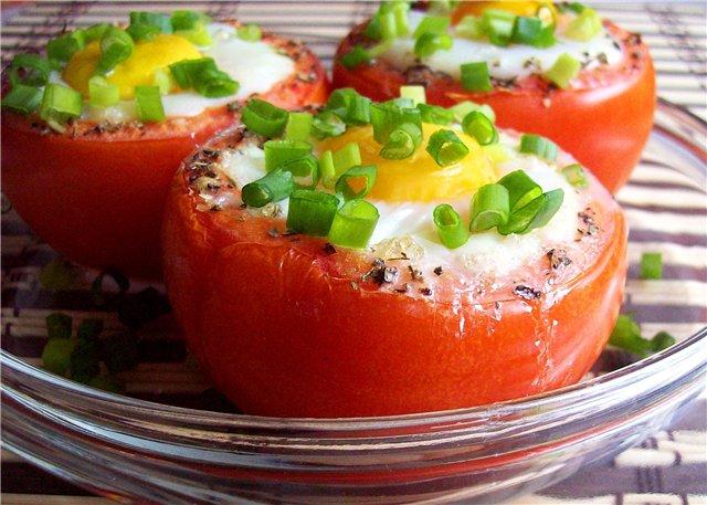 Фаршированные яйца с яйцом и сыром
