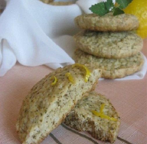 """Лимонное печенье с заваркой """"Молочный улун"""""""