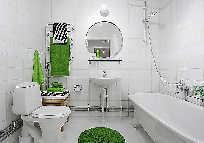 Дизайн ванной комнаты фото в белом цвете