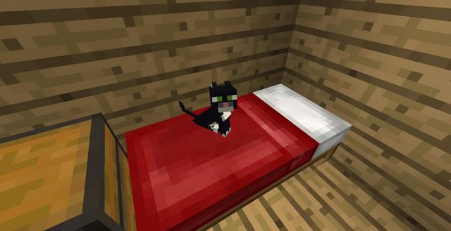 Как скрафтить кровать