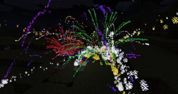 Как в Майнкрафте сделать фейерверк