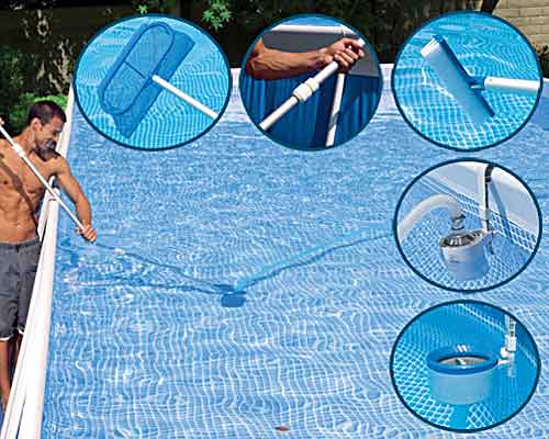 How to care for a swimming pool in the country