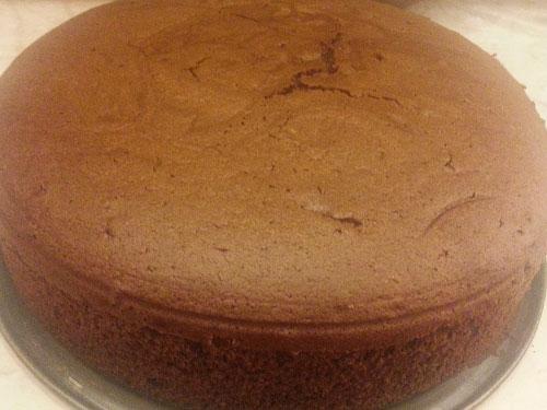 Готовим шоколадно-шифоновый бисквит