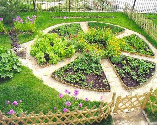 Как создать французский огород