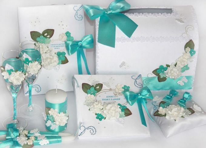 Оформляем свадьбу в бирюзовом цвете