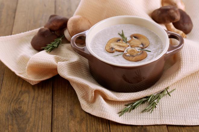 Готовим вкусный крем-суп из шампиньонов