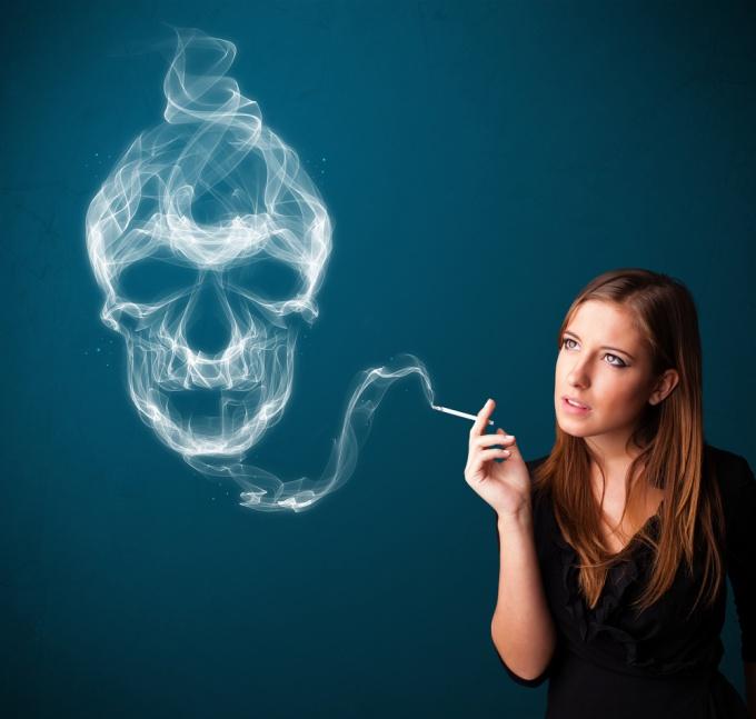 Вред курения для женщин