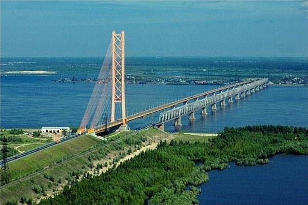 Мост через Обь в Сургуте