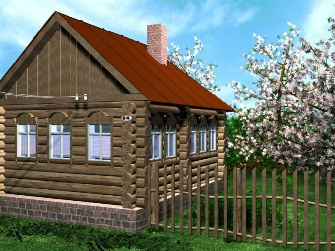 Деревенский дом утепляют сыпучими материалами, пенопластом, стекловатой