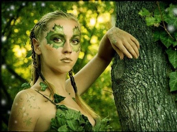 Эльфийский макияж