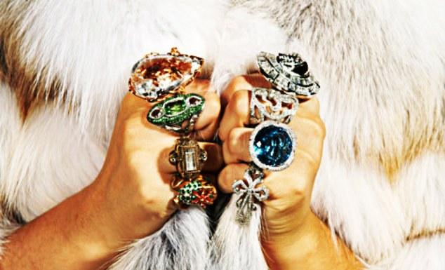 Какие кольца сейчас в моде в 2017 году