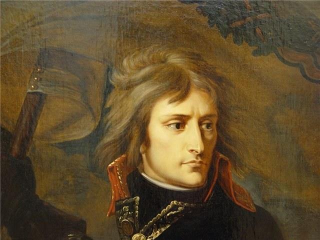 Император Наполеон без регалий