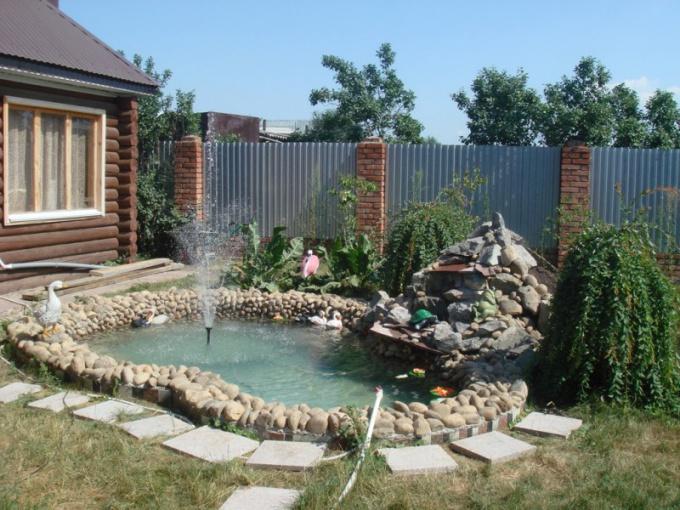 Как сделать пруд на дачном участке