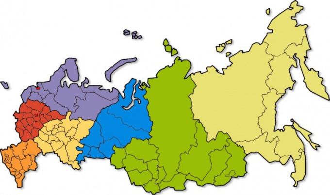 How many regions in Russia