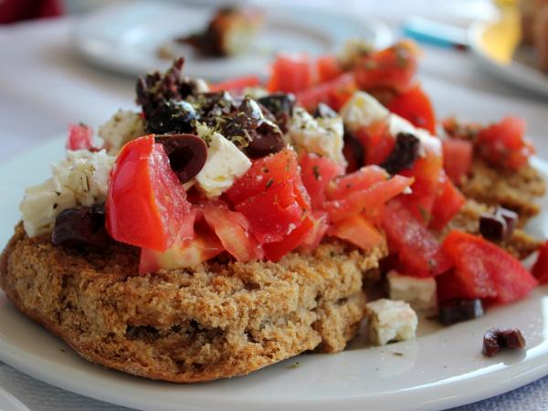 Как приготовить закуски по-гречески