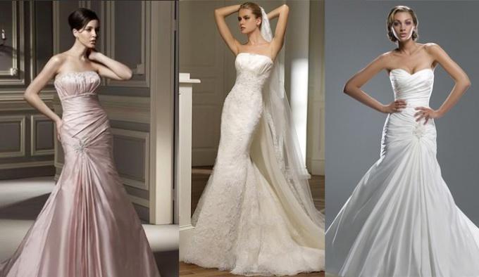 """Какие платья называются """"хвост русалки"""""""